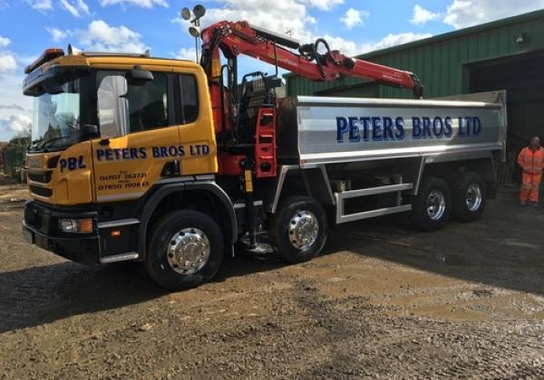Scania Grab Lorry