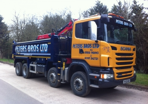 Scania Grab Lorry