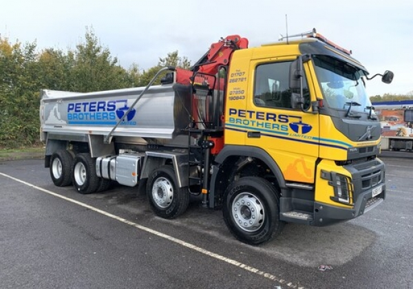 Volvo FMX Grab Lorry